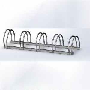 Bike Parking Rack And Rails 5 Bike Stand