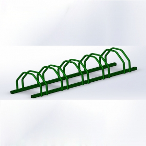 Bike Racks and Metal Bike Stand for 5 bikes