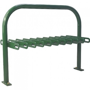 Carbon Steel Floor Type Campus Safety Scooter Racks for Schools