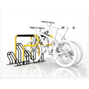 Flat pack compact bicycle rack
