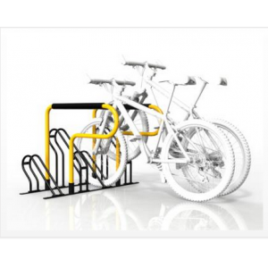 Galvanised compact flat pack 6 bike rack  (ISO SGS TUV approved)