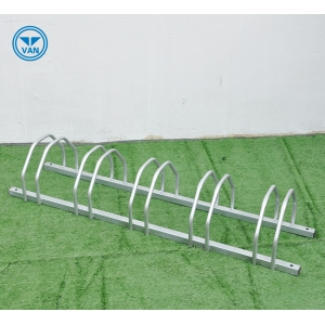 Hot Sell Metal Floor Stand Commercial 5 Space Bike Parking Stand