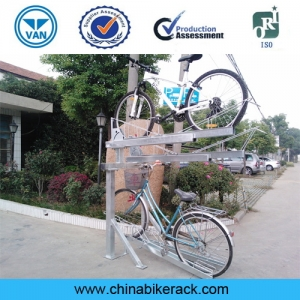 Indoor Double Tier Bicycle Storage Rack