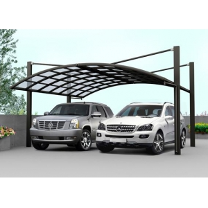 Outdoor Beautiful Car Parking Shelter