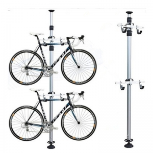 Outdoor High Quality Freestanding Aluminum Foldable PRO Bike Repair Stand