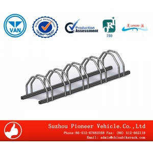 Outdoor Hot-DIP Galvanizing Bike Rack for Garage