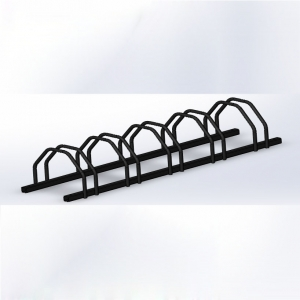 Outdoor Steel Bike Rack/Bike Stand for 5 parking space