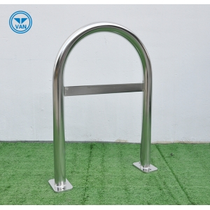 Single Bike Rack Commercial Stainless Steel Security Bike Parking