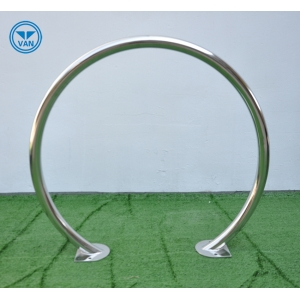 Single Hoop Ground China Manufacturer Galvanized Bicycle Side Stand