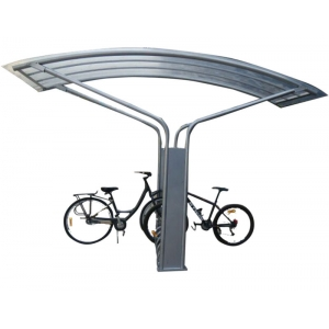 Useful  Outdoor Bike Shelter with Bike Rack