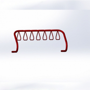hot-galvanized china parking rack wholesale