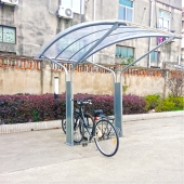 China 2015 hot sale  bike shelter manufacturer /supplier factory