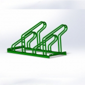 China Custom Bike Racks/Galvanized Steel Bicycle Parking Racks factory
