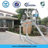 China Double Decker Bike Parking System factory