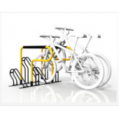 China Galvanised compact flat pack 6 bike rack  (ISO SGS TUV approved) factory
