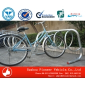 中国HDG Anti-corrosion Outdoor Bike Rack工場