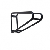 China High Quality Factory Carbon Steel Triangle Single Bike Rack Garage Wall factory