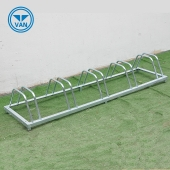 Chine Outdoor Industrial Popular Aluminum Floor Mounted Bike Rack Display Stand usine
