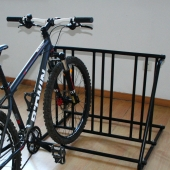 China Mall Bicycle Accessories 2 Holders Commercial Bicycle Rack factory
