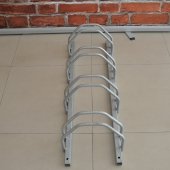 China Multi-Capacity Double-Sided Space Saving 201 Stainless Steel Bicycle Ka Stand factory