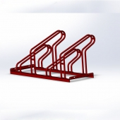 China Outdoor floor mounted bicycle parking rack factory