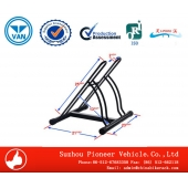 China Zwei Bike Floor Stand Bike rack-Fabrik