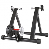 China Wholesale Popular Indoor Bike Trainer with Magnetic Wheel Training Station factory