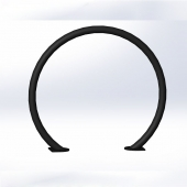 China china bike rack Inverted U series hoop runner bike racks factory