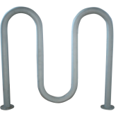 China popular sell hot-galvanized bicycle rack factory