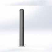 China powder coated post bollards with high quality factory