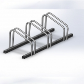China tublar stand cycle racks factory
