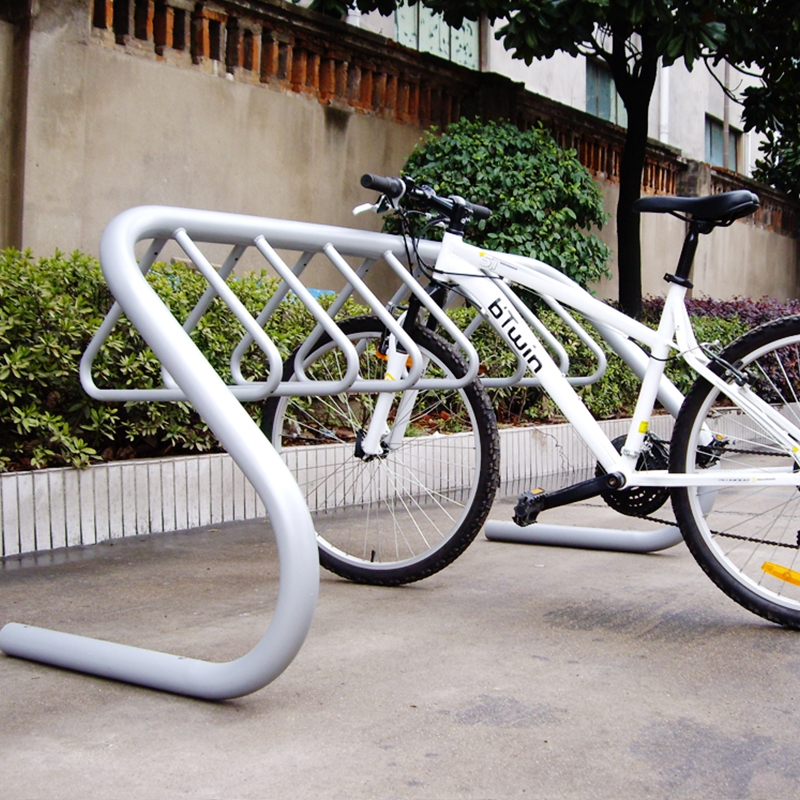 Bike Parking For Double Sided Capacity Public Bicycle Rack