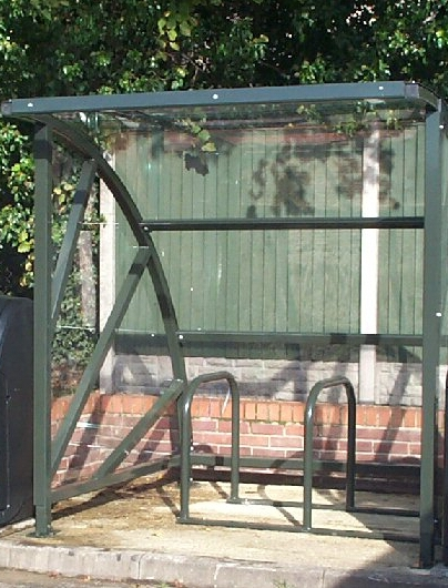 Fashiona Amp Durable Galvanised Outdoor Bike Shelters