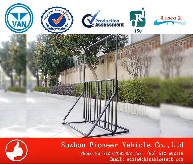 Multipurpose Power Coated Standing Bike Rack