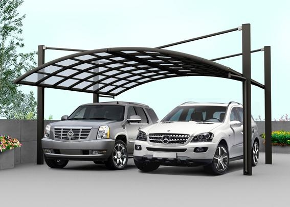 Outdoor Shelters For Vehicles : Outdoor beautiful car parking shelter