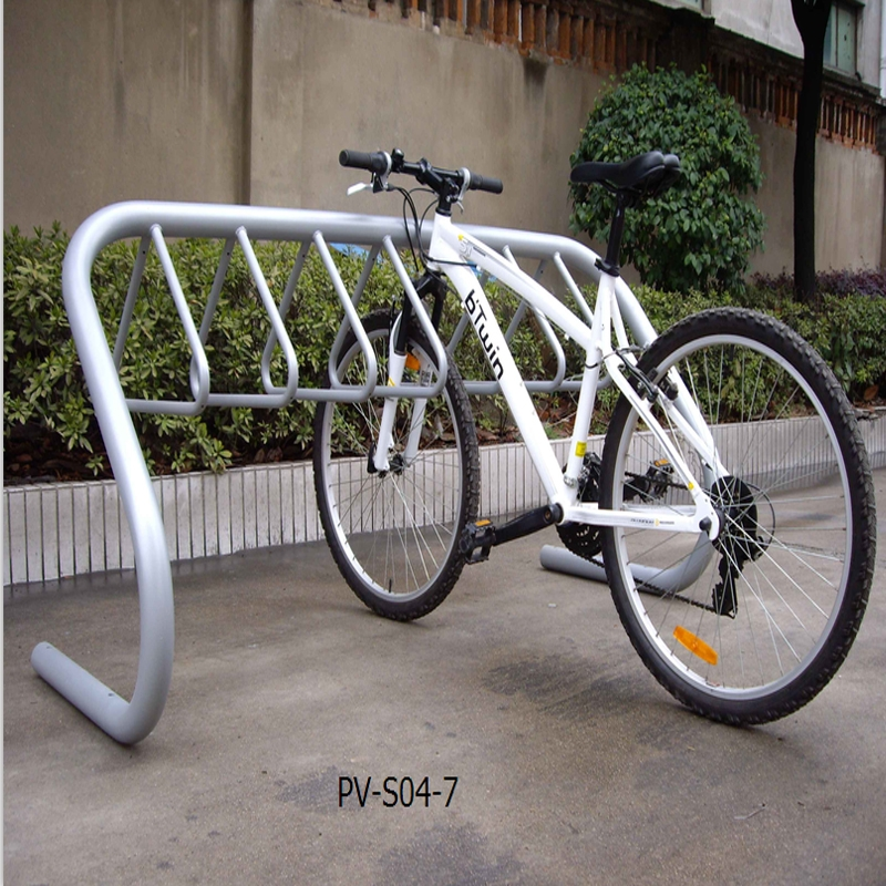 Parking 7 bikes bicycle rack manufacturer - Parking de bicicletas ...